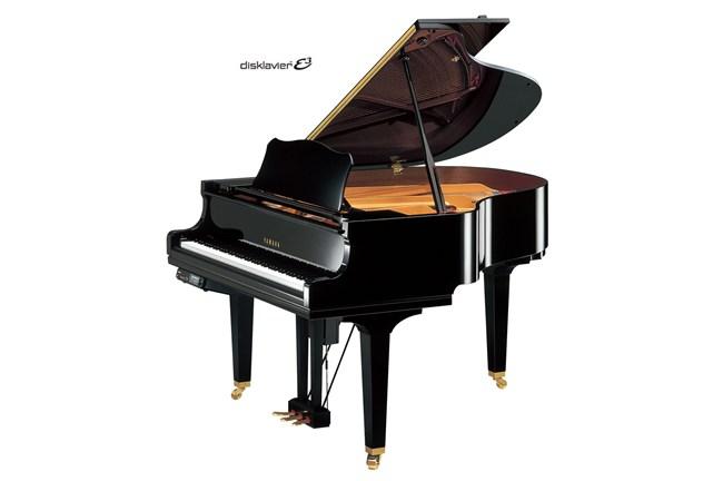 Yamaha dgc1e3s grand piano with disklavier polished ebony for Yamaha disklavier grand piano