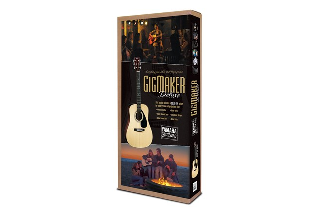 Yamaha Gigmaker Deluxe Acoustic Guitar Starter Pack