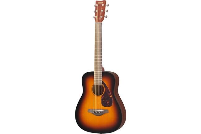 Yamaha jr2 3 4 mini acoustic children 39 s guitar sunburst for Yamaha jr2 3 4