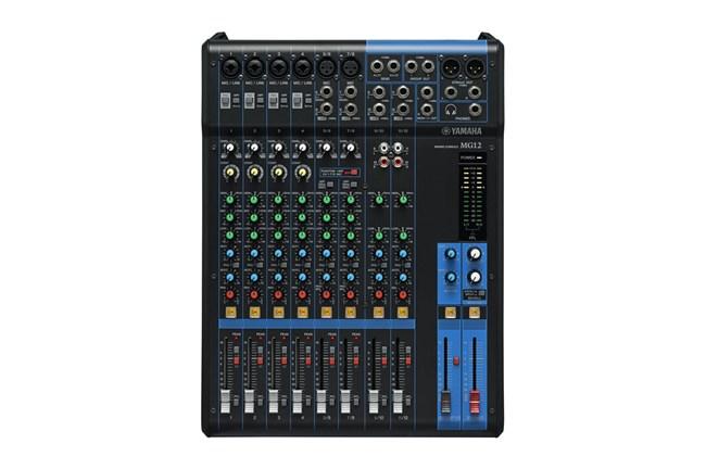yamaha mg12 12 channel analog mixer heid music. Black Bedroom Furniture Sets. Home Design Ideas