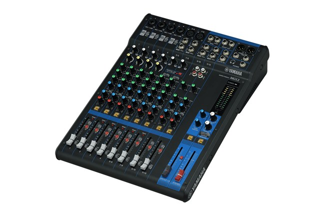 yamaha mg12 12 channel analog mixer heid music