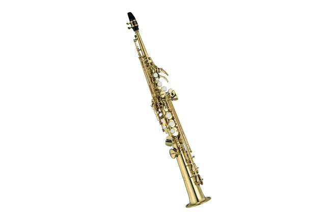 Yamaha YSS-475II Step-Up Intermediate Soprano Sax Saxophone