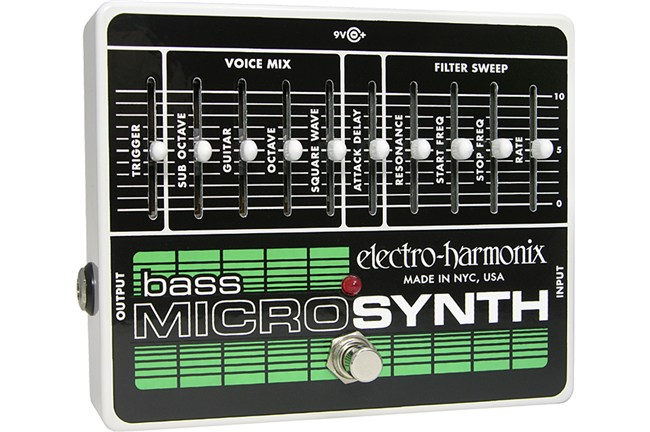 Electro-Harmonix Bass Micro Synth Pedal Heid Music