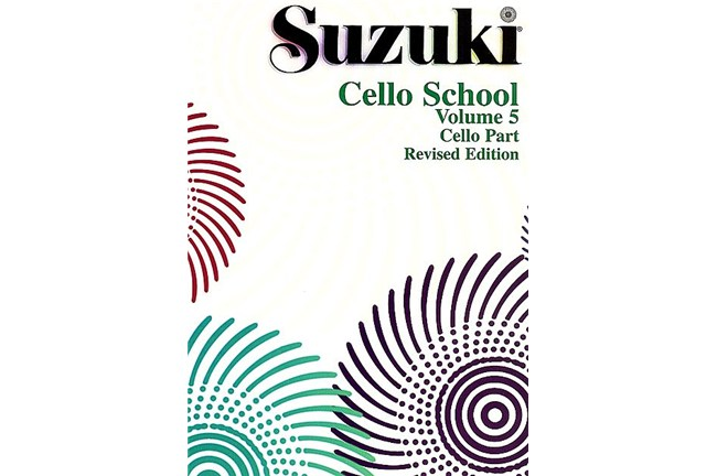 2311B2, Cello School 5, Suzuki, AL