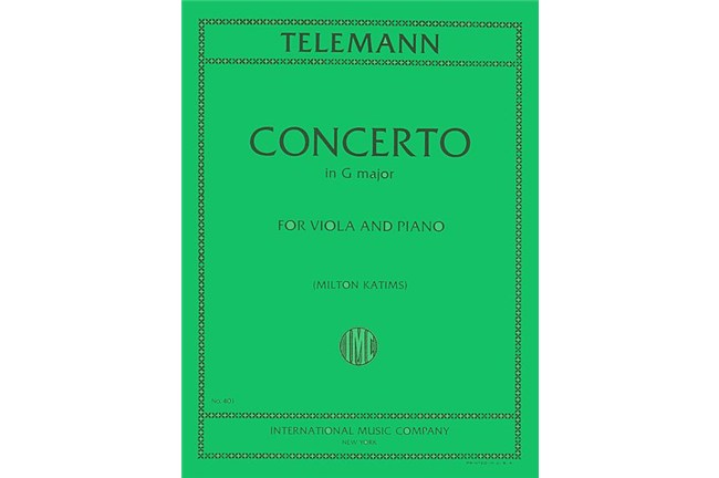2211S04, Concerto in G Major Viola, Te