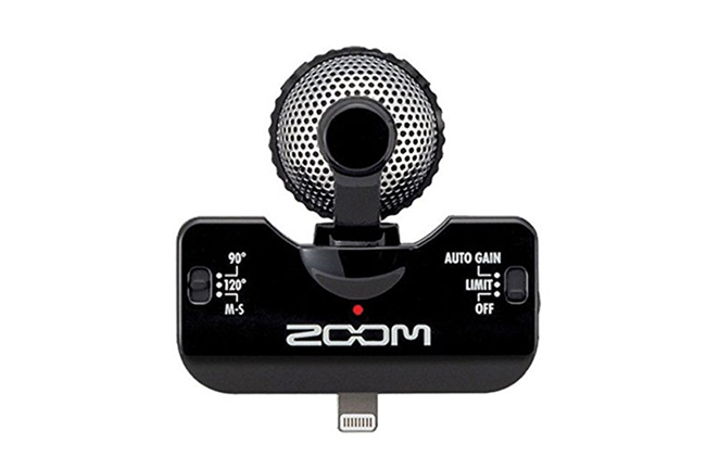 Zoom Iq5 Professional Tereo Microphone For Ios Heid Music