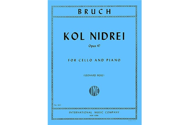 2311S07, Kol Nidrei Op 47 Cello, Bruch