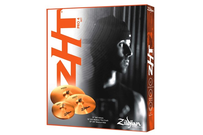 The ZHT Pro Pack includes 4 cymbals that span across styles and types for a well rounded pack.