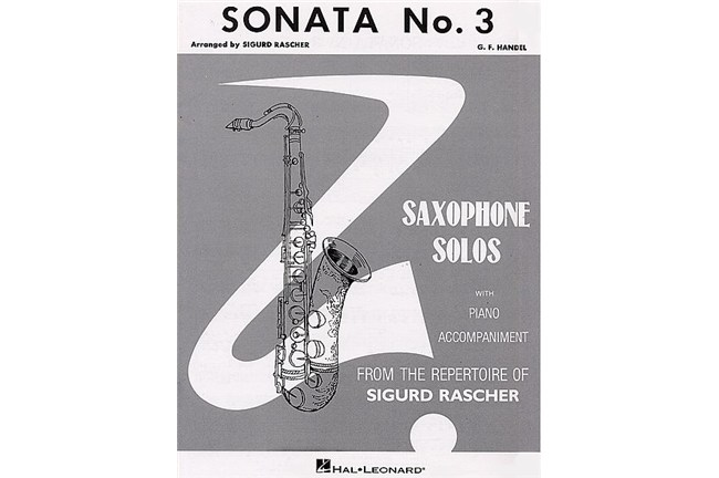 Sonata No. 3 for Alto Saxophone