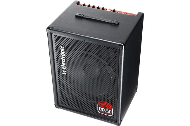 "TC Electronic BG250 250W 1x15 Bass Combo Amp Single 15"" driver Tone Print Enabled heid music"