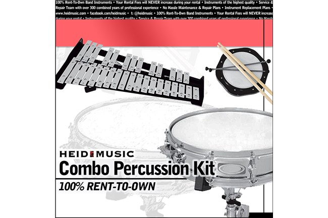 Combo Percussion Snare Drum Rental Online Heid Music