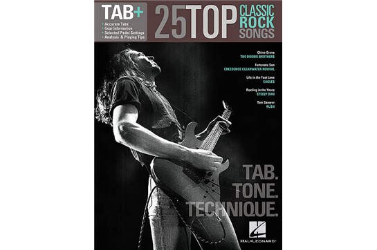 25 Top Classic Rock Songs for guitar Heid Music