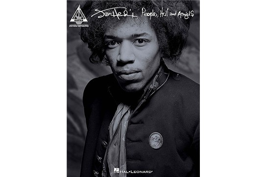 Jimi Hendrix People, Hell and Angels TAB book Heid Music
