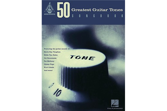 50 Greatest Guitar Tones book at heidmusic.com