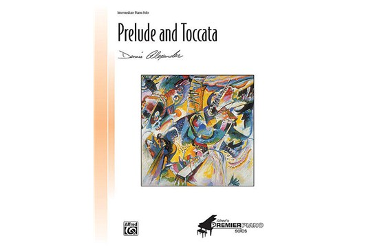 Prelude and Toccata Piano Solo