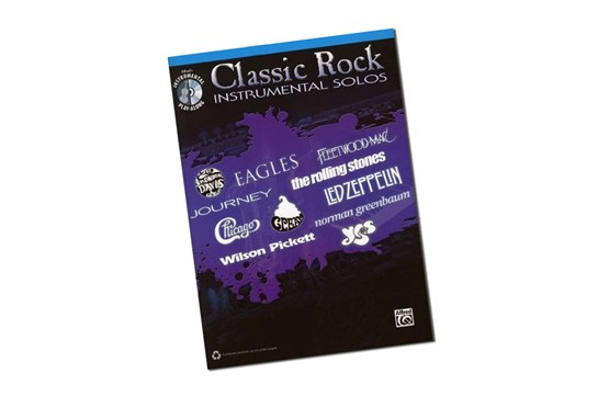 Classic Rock Instrumental Solos for Alto Saxophone