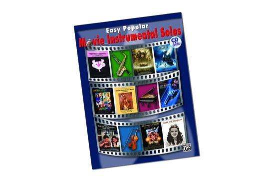 Easy Popular Movie Instrumental Solos for Alto Saxophone