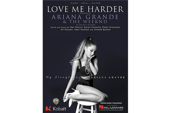 Love Me Harder - Ariana Grande piano sheet music