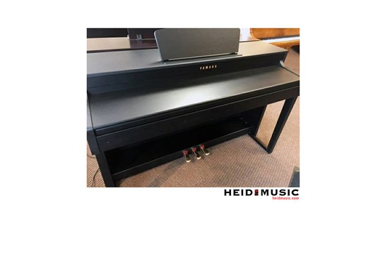 used yamaha clp 430 clavinova digital piano black walnut. Black Bedroom Furniture Sets. Home Design Ideas