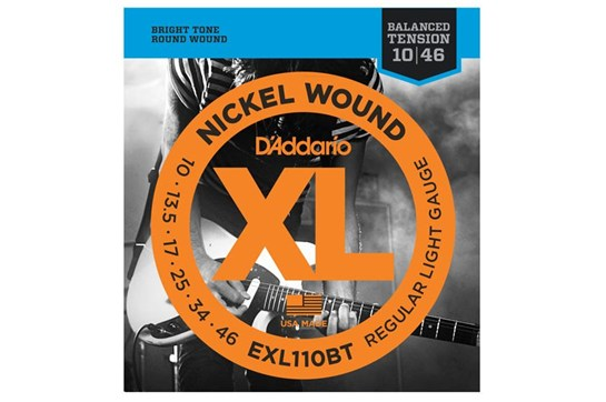 D'Addario EXL110BT Strings front