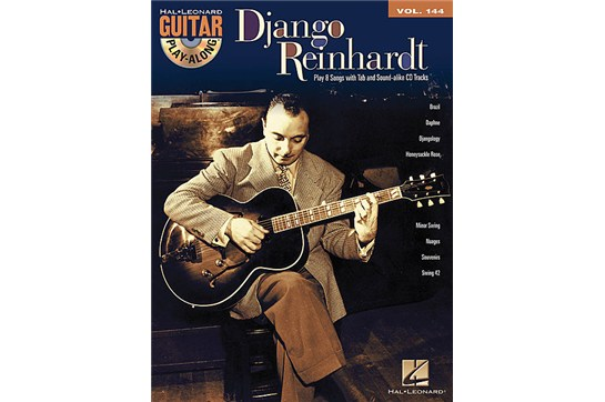 Django Reinhardt Jazz Guitar Play a Long book