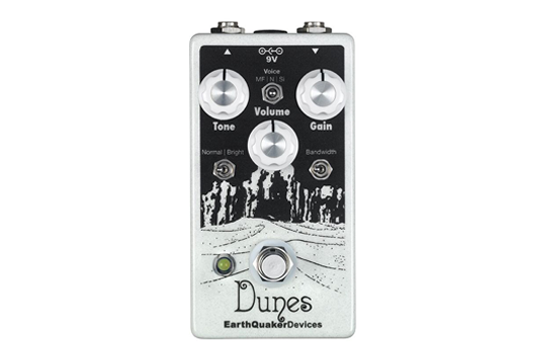 EarthQuaker Devices Dunes Mini Ultimate Overdrive