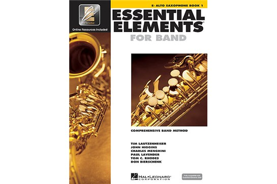 Essential Elements Alto Saxophone Lesson Book 1