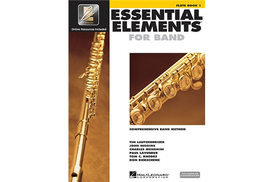 Essential Elements Flute Lesson Book 1