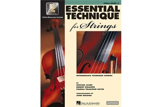 Essential Technique for Strings - Viola Book 3