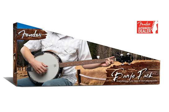 Fender Banjo Pack