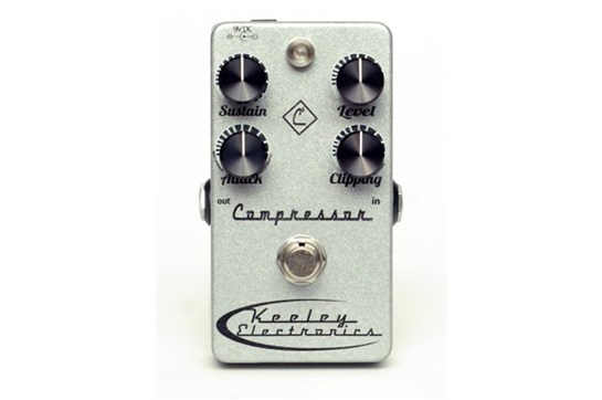 Keeley 4-Knob Compressor Pedal Heid Music