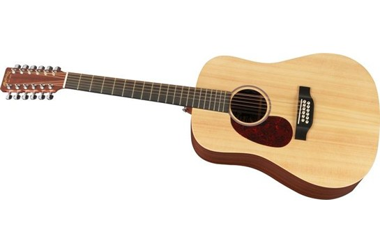 Martin D12x1ae 12 String Acoustic Electric Guitar Left