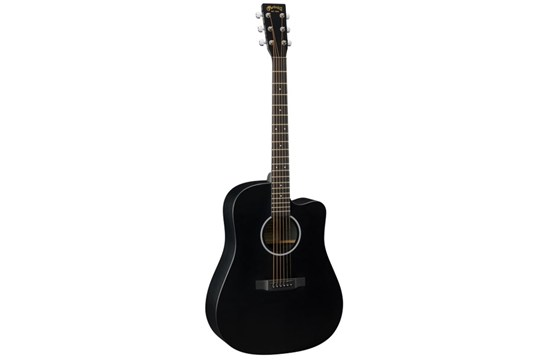 Martin Dcxae Black Acoustic Electric Guitar Heid Music