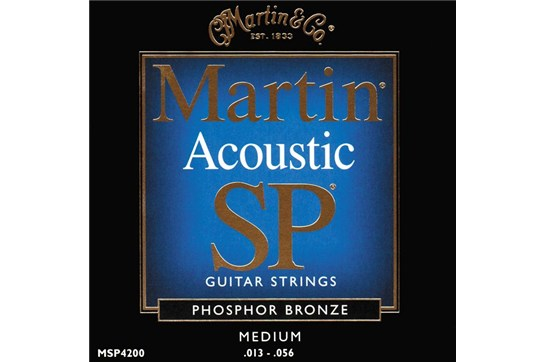 Martin MSP4200 Acoustic Guitar Strings Phosphor Bronze heidmusic
