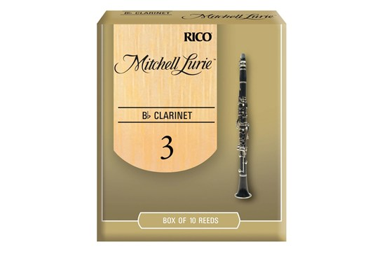 Mitchell Lurie Clarinet Reeds Strength 3 Box of 10