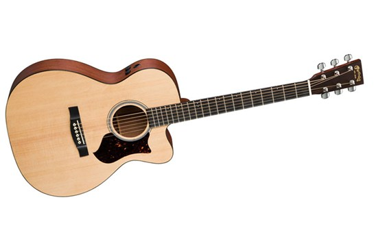 Martin OMCPA4 acoustic electric guitar Heid Music