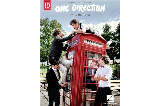 One Direction - Take Me Home Piano / Vocal / Guitar Songbook