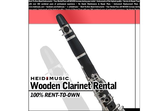 Wood Clarinet Rental online  Heid Music