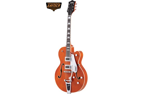 Orange Gretsch G5420T hollowbody electric guitar heidmusic.com