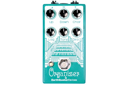 Earthquaker Organizer Pedal Heid Music