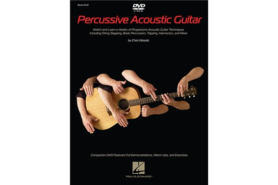 percussive slap acoutic guitar dvd book method