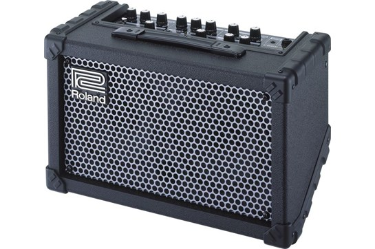 roland cube street battery powered stereo guitar combo amp heid music. Black Bedroom Furniture Sets. Home Design Ideas
