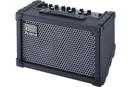Battery Powered Bass Amp : roland cube street battery powered stereo guitar combo amp heid music ~ Vivirlamusica.com Haus und Dekorationen