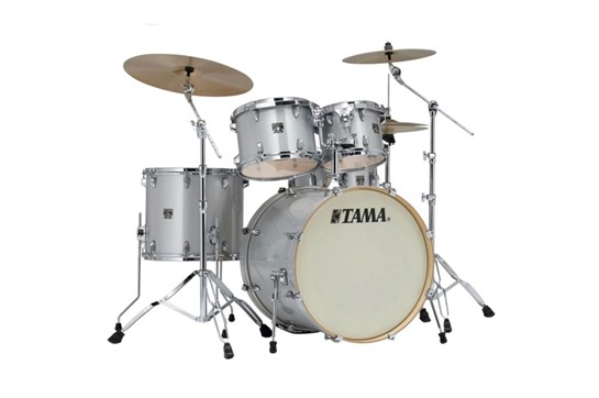 Tama CL52KS Superstar 5-Piece Silver Drum Set Shell Pack