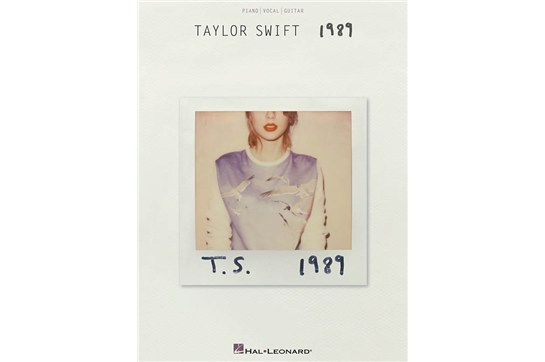 Taylor Swift 1989 piano guitar vocal pvg songbook