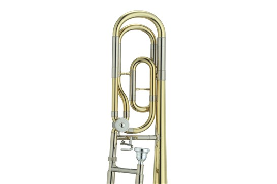 how to clean a trombone with an f attachment