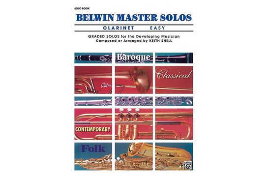 Belwin Master Solos (Clarinet), Volume 1 Easy