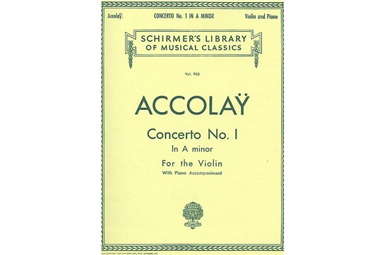 2111A7, Concerto No 1 in a minor Violin