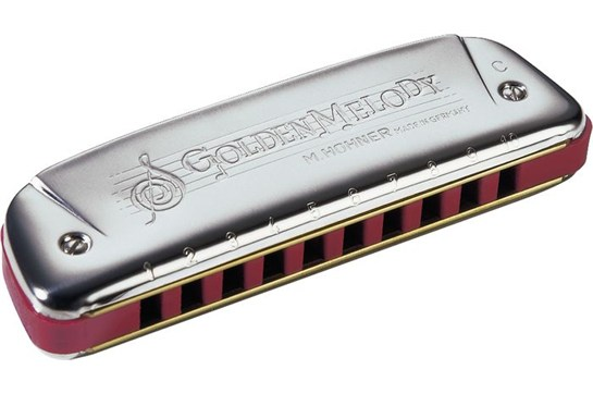 Hohner Golden Melody Harmonica in C
