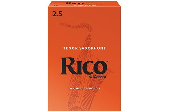 Rico Tenor Saxophone Reeds Strength 2.5 Box of 10